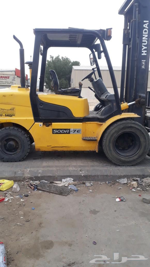 تأجير معدات رافعات شوكية فوركليفت في الرياض