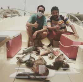 رحلات صيد بحر وسباحه واستجمام وتشميس وحفلات