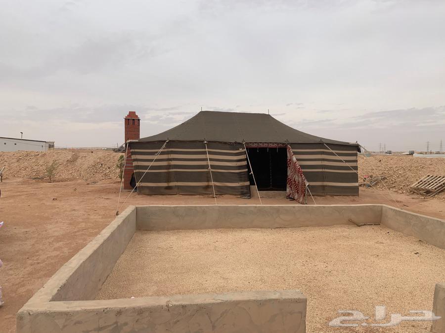مخيم على طريق رماح نظيف ورخيص