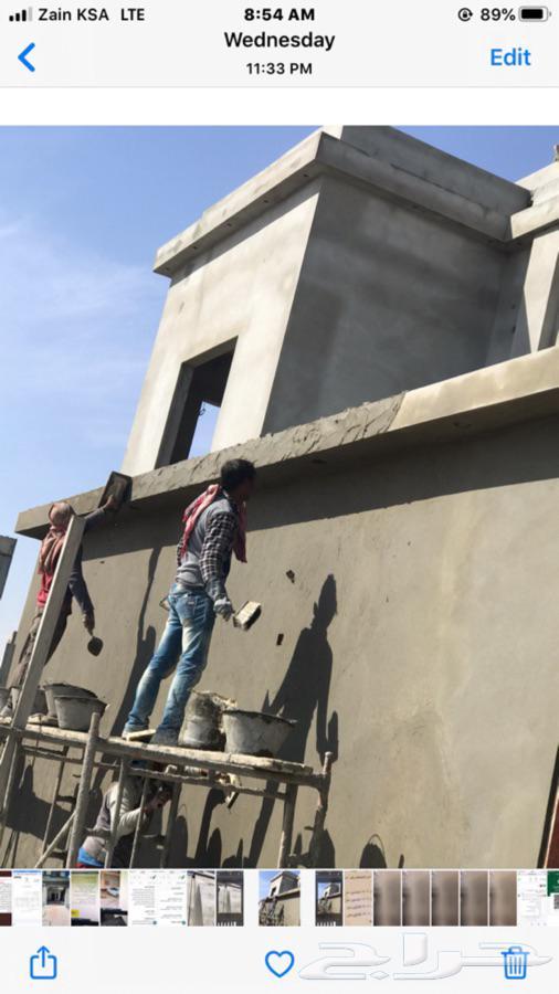 اشراف سعودي على المباني ومتابعه