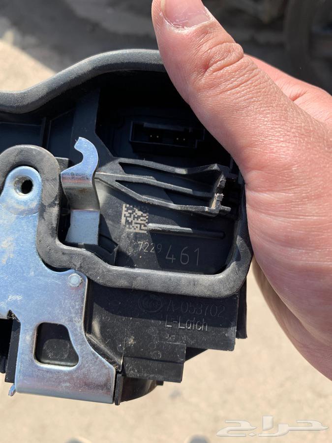 قفل باب بي ام 730 بدون شفط