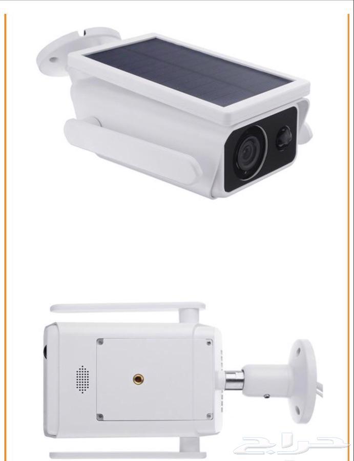 كاميرا علئ الطاقه الشمسية لمراقبه اعمال البناء والاستراحات