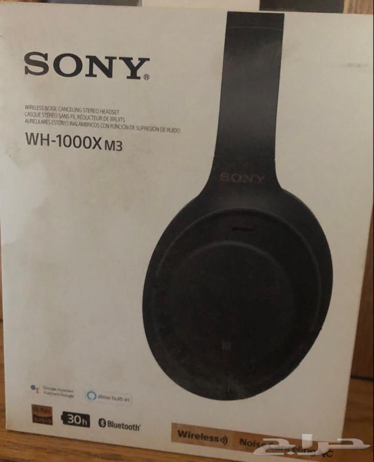 سماعه سوني WH-1000XM3