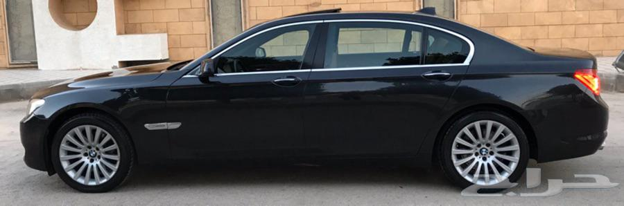 بي ام دبليو 730Li سعودي 2012 ( فل كامل ) نظيف جدآ