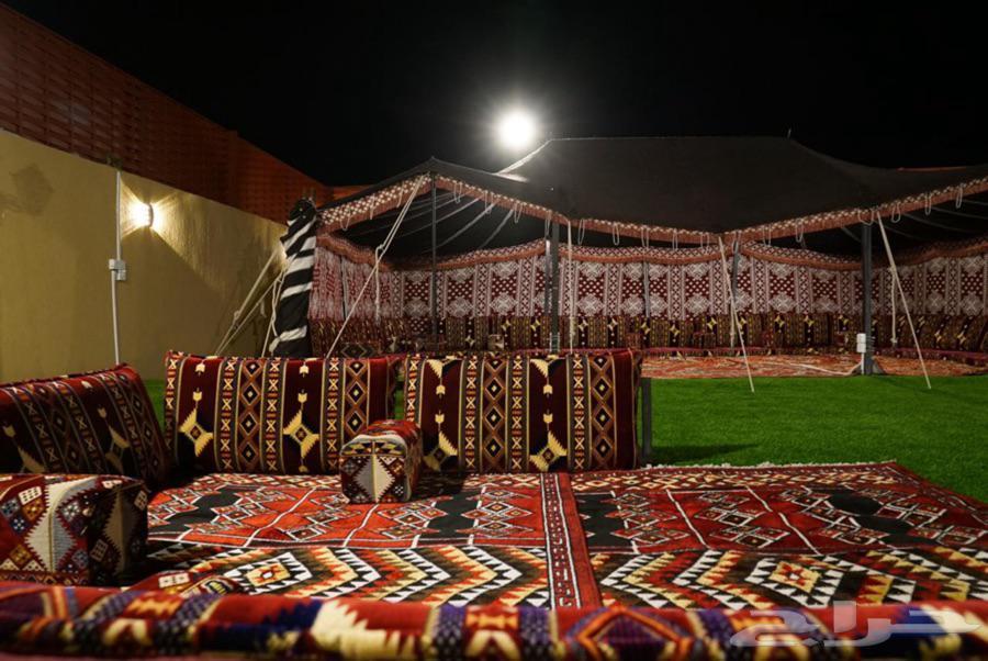 شاليه مع مخيم للإيجار الحرازات