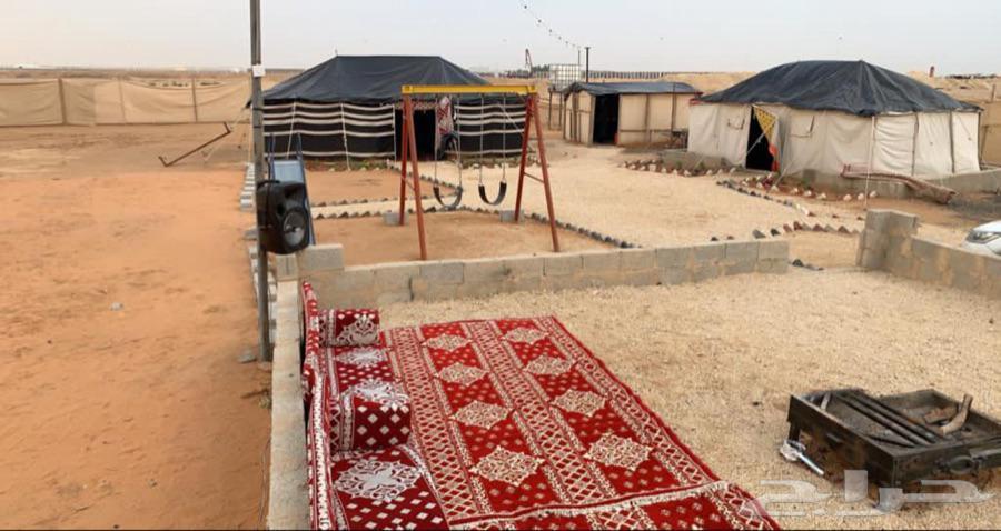 مخيم للايجار اليومي باأسعار مناسبة بالعارض