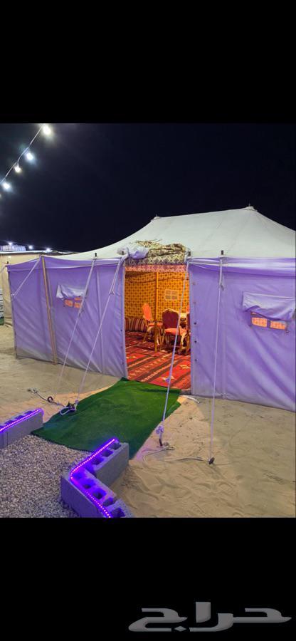 للبيع مخيم كامل