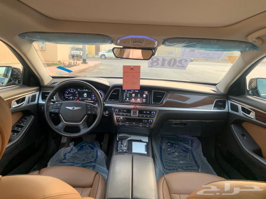 هونداي جنسس 2018 بلاتنيوم سعودي