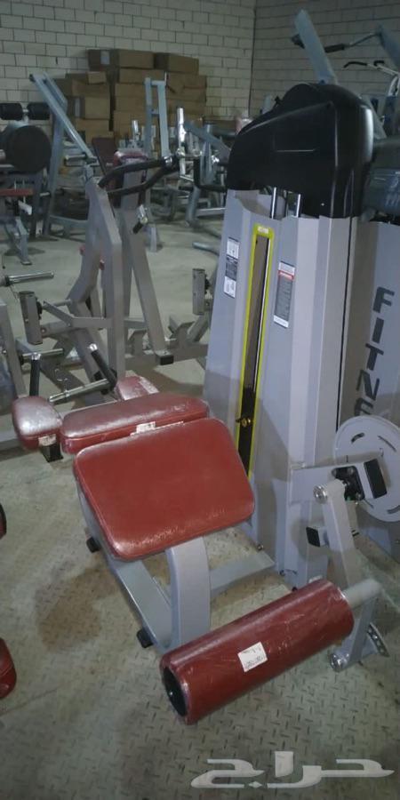 اجهزة رياضية تجهيز اندية منزلية اثقال اوزان بارراك كيبل كرس