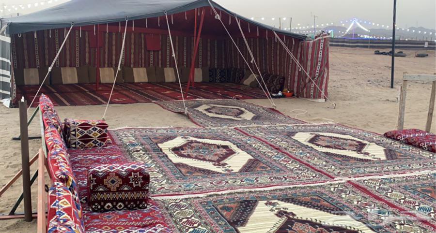مخيم للإيجار ب 250 اقرا الاعلان أسفل