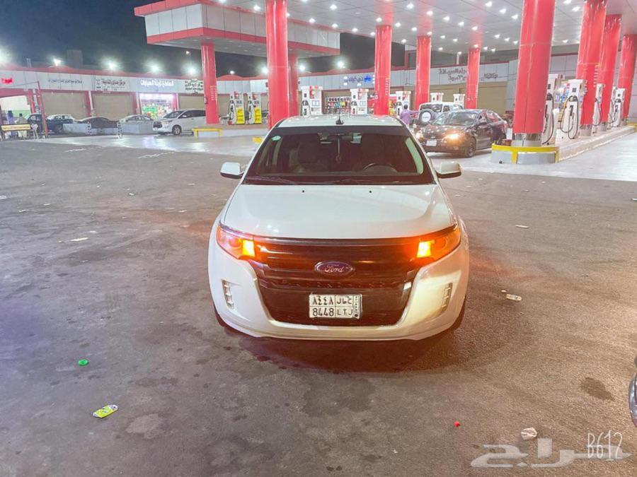 فورد ايدج 2011 ماشيه 450 الف السياره مكينه وجربوكس ع الشرط