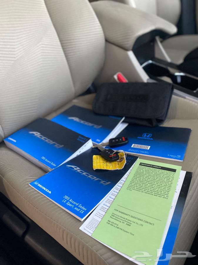 هوندا اكورد 2015 بطاقة جمركية 2.4