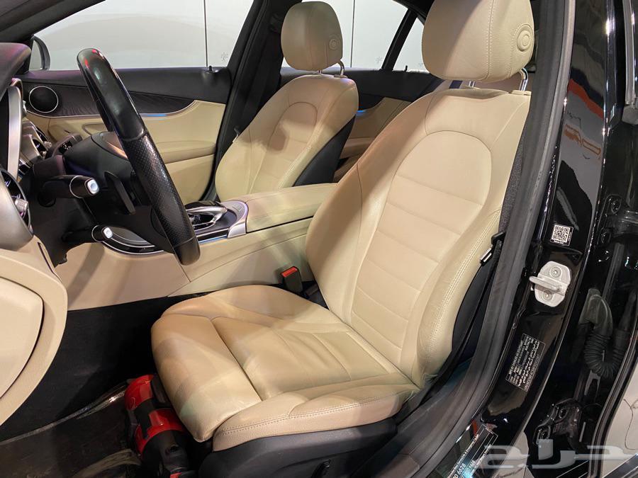 مرسيدس C200 2015 كت AMG بحالة نظيفة