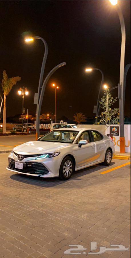 كامري 2020 للتقبيل بنك الرياض
