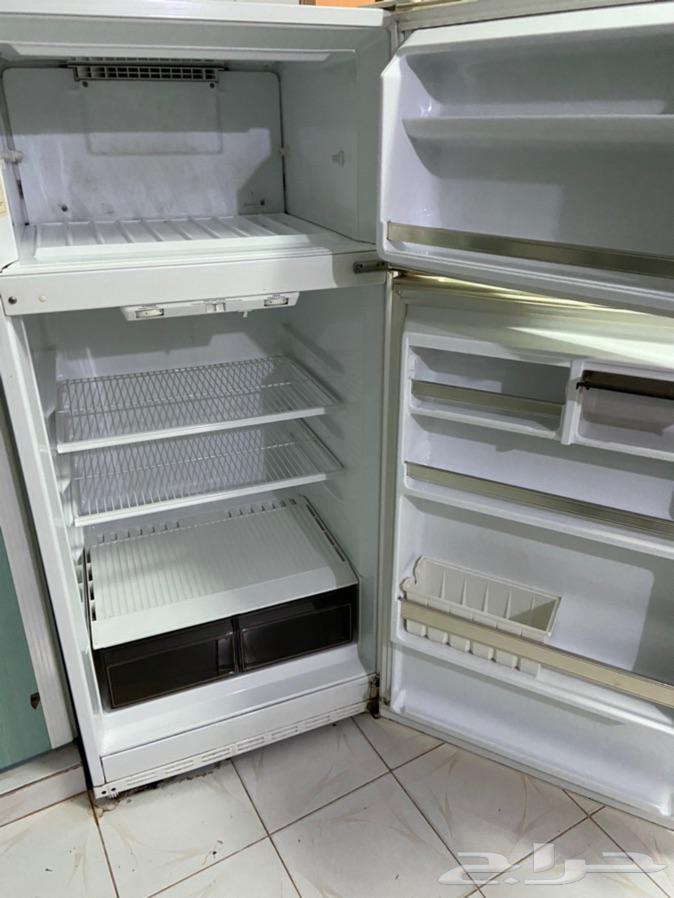 ثلاجة جبسون امريكية التصنيع اصليه   فرن كهربائي كومتال