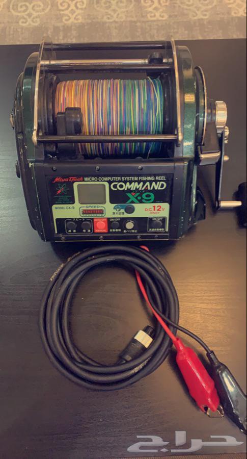مكينة صيد غزير كهربائيه