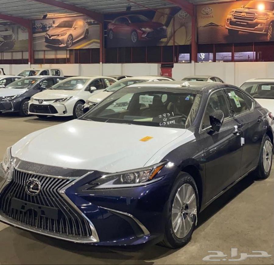 لكزس Lexus ES250 AA 2021 متوفر جميع الألوان