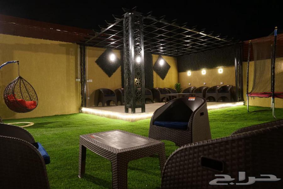 شاليه فندقي مع مخيم