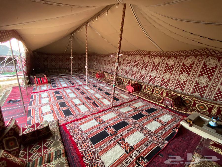 مخيم للايجار خصم 50 بالمائة وسط الاسبوع بالعاذرية قسم واحد
