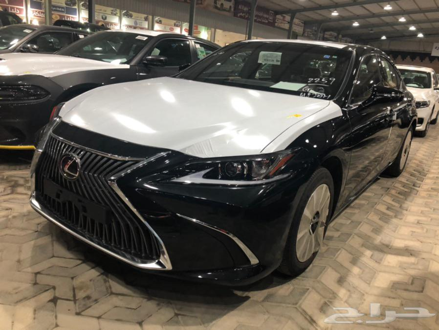 ليكزس ES250 استندر 4 سلندر سعودي جديد 2021
