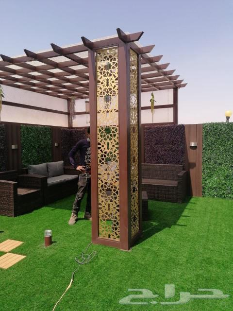 0533230700 البشمهندس أحمد لفن وإبداع العشب