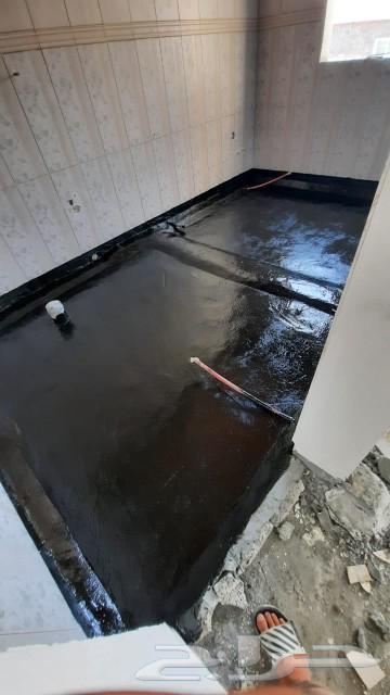 عزل أسطح عزل حمامات عزل فوم