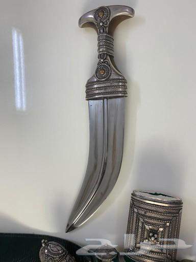 خنجر زراف قديم للبيع