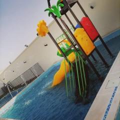 شاليه الميم في الحرزات بالالعاب المائية